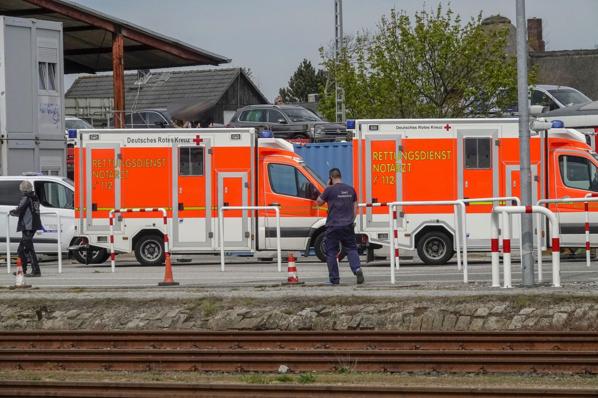 2 Sylter Rettungswagen