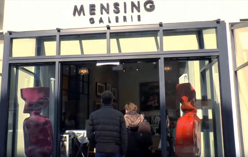 Galerie Mensing in Westerland auf Sylt