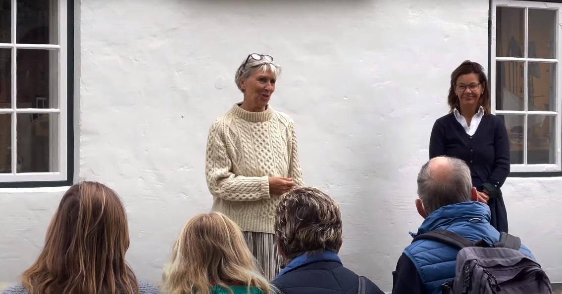 Silke von Bremen ist wohl Sylts bekannteste Gästeführerin