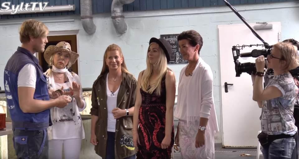 4 der 5 Teilnehmerinnen bei Shopping Queen auf Sylt