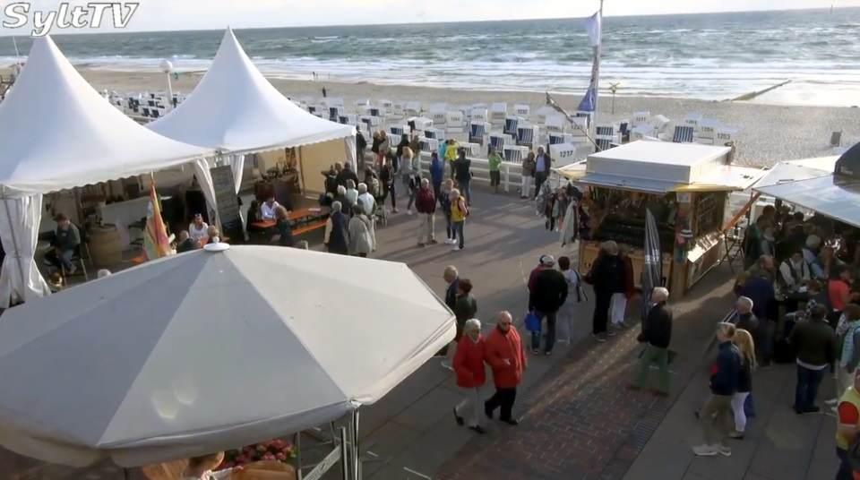 Sylter Winzerfest 2018 auf der Westerländer Promenade