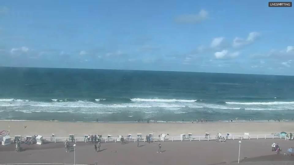Live Webcam vom Rantumer Strand