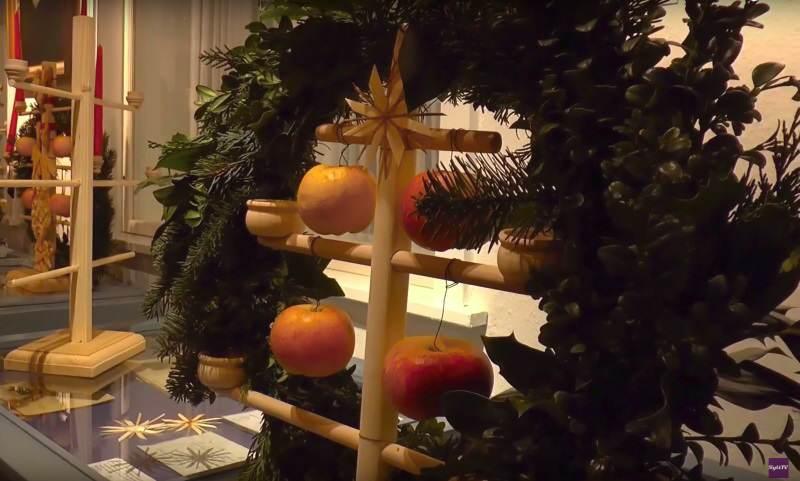 Der Sylter Weihnachtsbaum, hier Jöölboom genannt