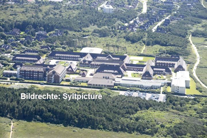 Die Nordseeklinik in Westerland auf Sylt