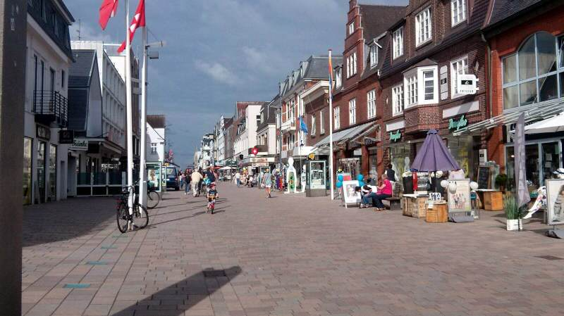 Shopping in Westerland auf Sylt
