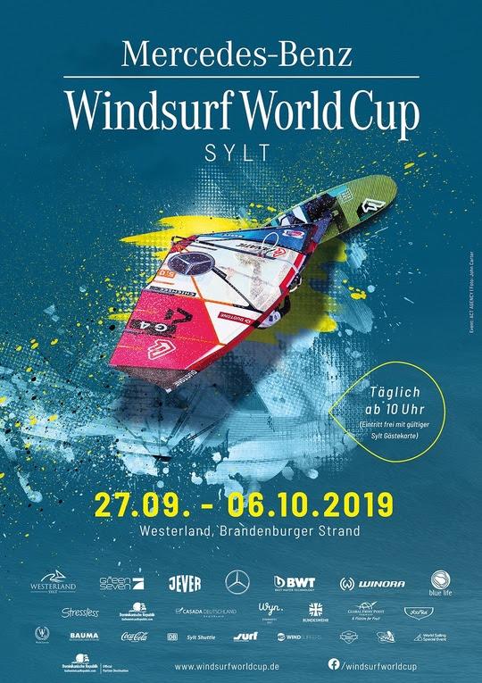 Windsurf Worlf Cup Sylt Plakat 2019