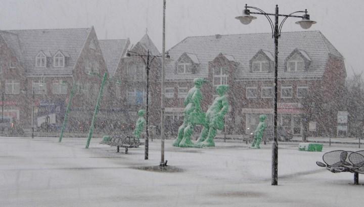 Sehen wir auf Sylt am Wochenende ergiebige Schneefälle?