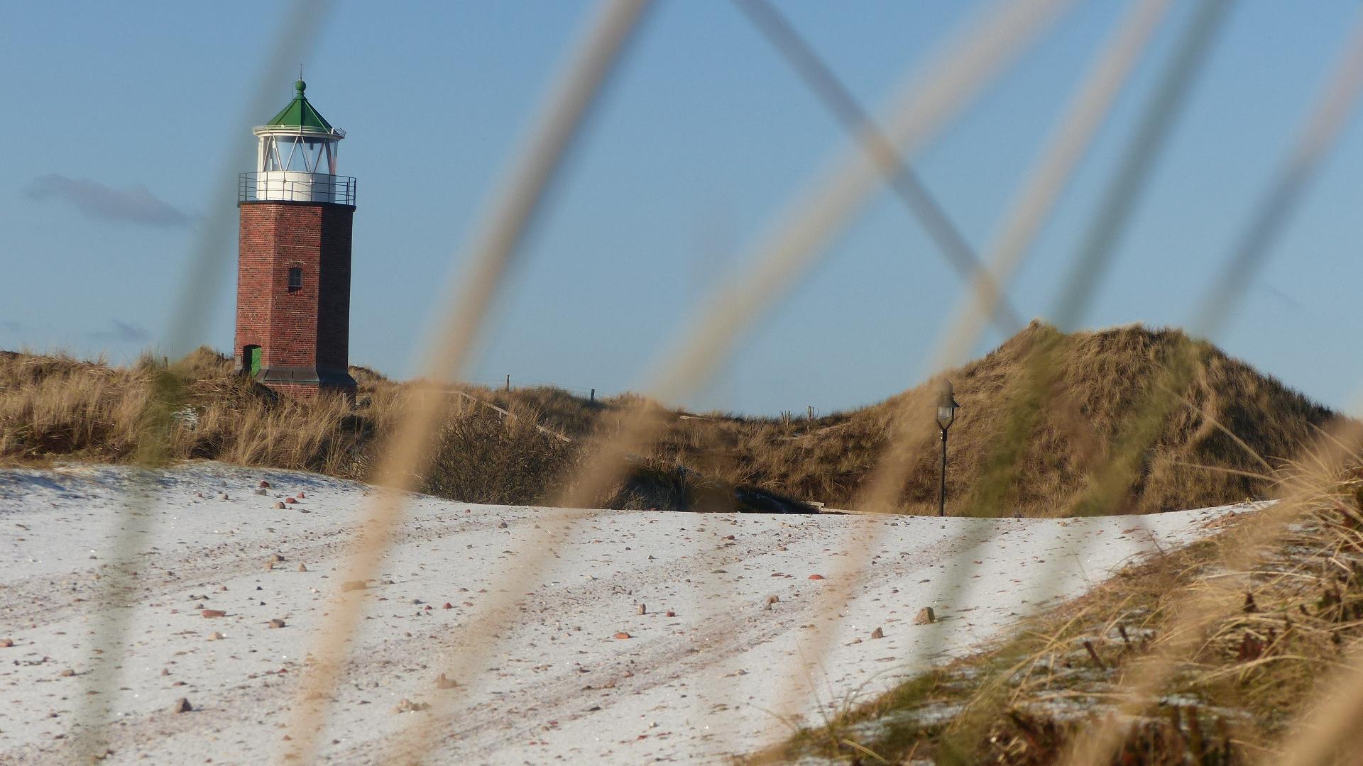 Der kleine Leuchtturm von Kampen, das Quermarkenfeuer